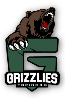 logo A.S.D Grizzlies Torino 48 BaseballClub
